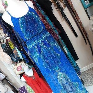Stilettos maxi dress